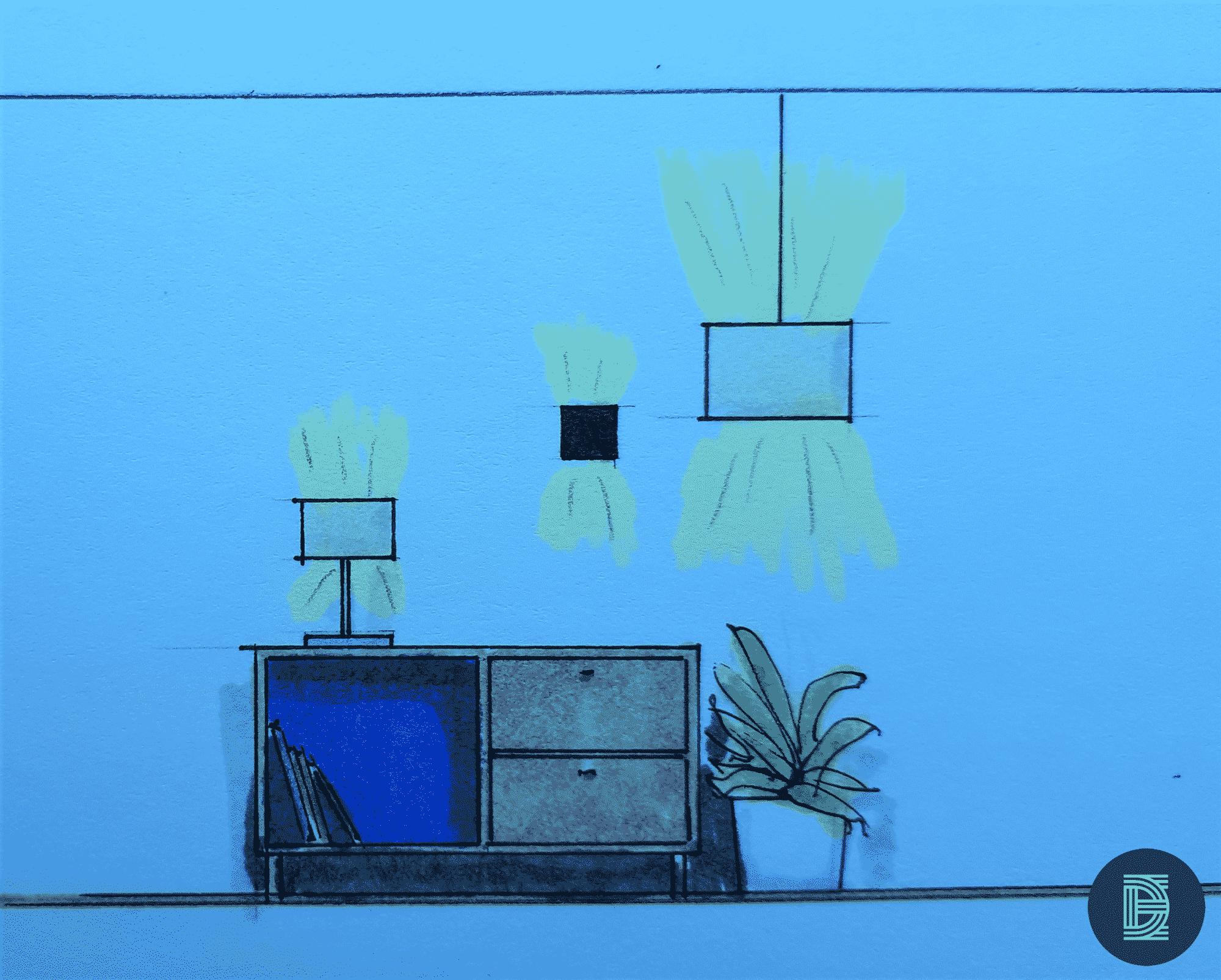waar zet je lampen in huis neer