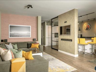 Woonkamer Hillegom - interieurontwerp door Designed by Elroy