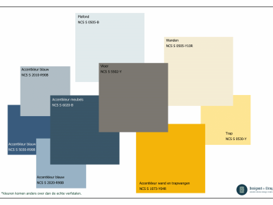 Kleuradvies Sassenheim - Kleurplan maken Designed by Elroy